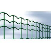 Grillage soudé plastifié vert (EVE) - 50 x 100 mm