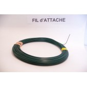 FIL d'ATTACHE - Plastifié - Ø 1,5mm - 100m
