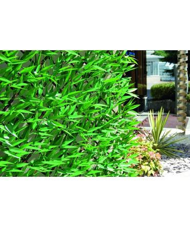 Haie bambou 3D - vert - 1m x 2m