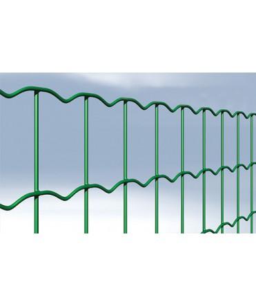 Grillage soudé plastifié vert (SUP -PLUS) - 100 x 50 mm