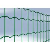 Grillage soudé plastifié vert (GAR) - 100 x 63 mm