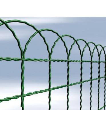 Bordure tissée - vert - 10 m